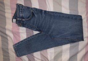 Zara Jeans skinny bleu clair-bleu azur