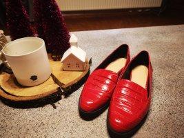 Zara Pantofel czerwony