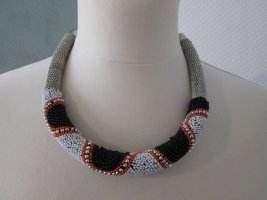 Zara Statementkette Perlenkette Ethnolook