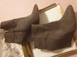 Zara Cothurne gris cuir