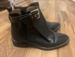 Zara Woman Slip-on laarzen zwart-goud
