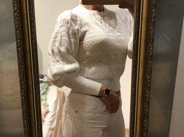 Zara Strickpullover in Gr.36/S in weiß , neu!