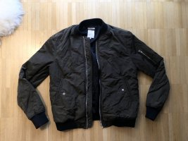 Zara TRF Bomberjacke Khaki XS