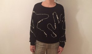 Zara weiter Pulli mit Perlen M NEU klassische Impressionen