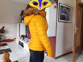 Zara Kurtka zimowa złotopomarańczowy