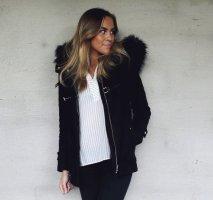 Zara Wolljacke schwarz 36 Dufflecoat
