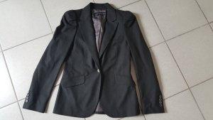 Zara Woman Boyfriend Blazer anthracite new wool
