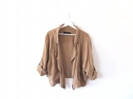 Zara Woman Jacke beige Gr. L 38 40 leichte Jacke military