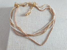 Zarte Gold Bronze Armband  Armschmuck Neu Schmuck