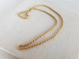 Zarte Goldfarbene Kette Halsschmuck Halskette Schmuck