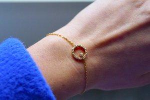 Zartes, simples und schlichtes Armband aus Silber