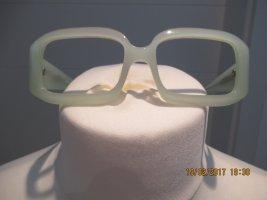 Zartgruene Brille ohne Glaeser von Miu  Miu Vintage