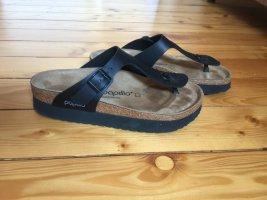Birkenstock Sandalias con talón descubierto negro Cuero