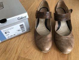 Gabor Gesp-pumps bruin