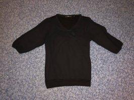 Zero Inserción de blusa negro