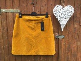 Zero Spódnica midi jasny pomarańczowy
