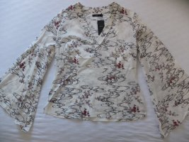 Zero Kimono Blouse multicolored cotton