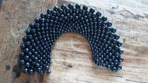 Zara Collier de perles noir