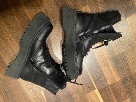 Zign Bottines à lacets noir