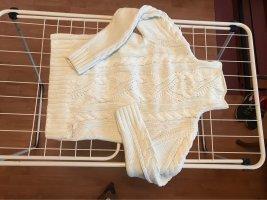 Marc O'Polo Jersey trenzado blanco puro Algodón