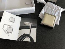 Hugo Boss Key Chain silver-colored-cream