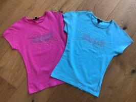 Zwei T-Shirt Mango Gr.XS
