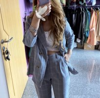 Set Trouser Suit multicolored