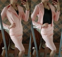 Leather Dress light pink