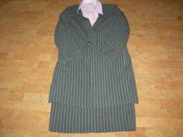 Alba Moda Robe en laine gris foncé polyester