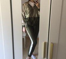 Zara Tailleur-pantalon doré-kaki