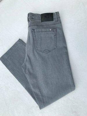 Luisa Cerano Jeans a 7/8 grigio