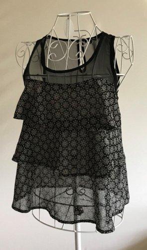 Tally Weijl Blouse topje zwart-wit