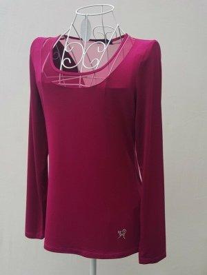 Viccio Barcelona Mesh Shirt raspberry-red