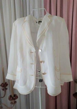 Apanage Blazer corto bianco-beige