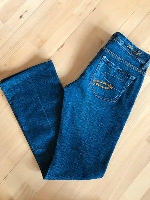 Seven7 Jeansy o kroju boot cut niebieski