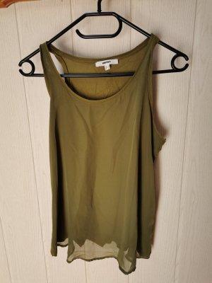 Koton Batik shirt groen-grijs