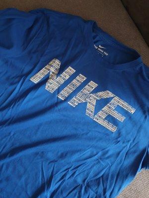 Nike Maglietta sport blu