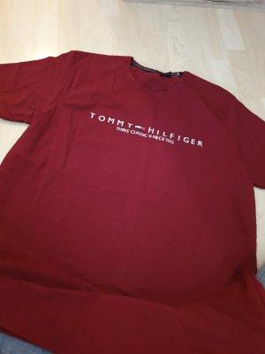 Tommy Hilfiger Koszulka sportowa bordo