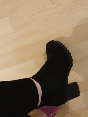 C&A Krótkie buty czarny
