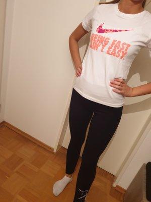 Nike Koszula z odcięciem pod biustem biały