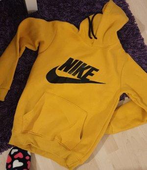 Nike Sweter z kapturem piaskowy brąz
