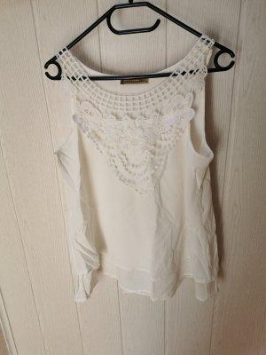 Batik shirt wit