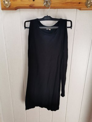 Koton Vestido tipo jersey negro