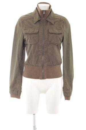 Esprit Blouson khaki-bronzefarben Casual-Look