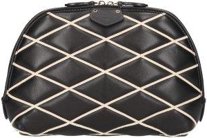 0006 Louis Vuitton Malletage Pochette Alma aus Lammleder in Noir Tasche, Handtasche, Clutch