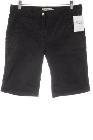 0039 Italy 3/4-Hose schwarz Casual-Look