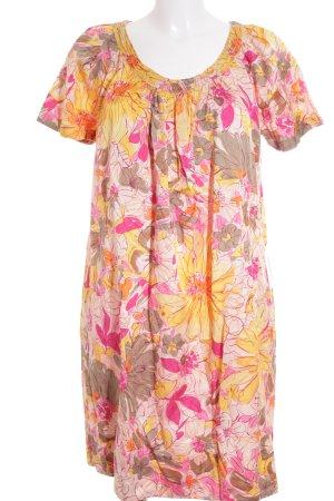 0039 Italy A-Linien Kleid mehrfarbig Elegant