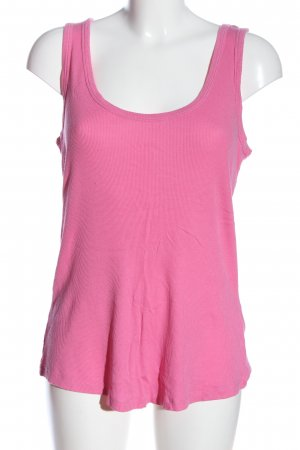 0039 Italy Basic Top pink Casual-Look
