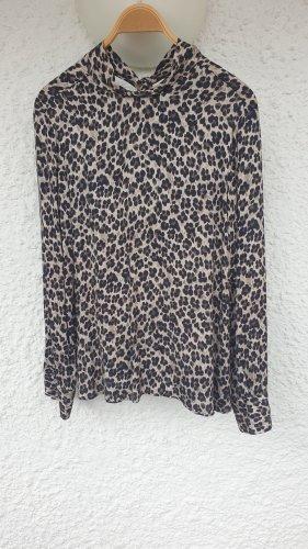 0039 Italy Bluzka z długim rękawem Wielokolorowy