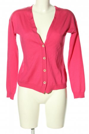 0039 Italy Cardigan pink Casual-Look